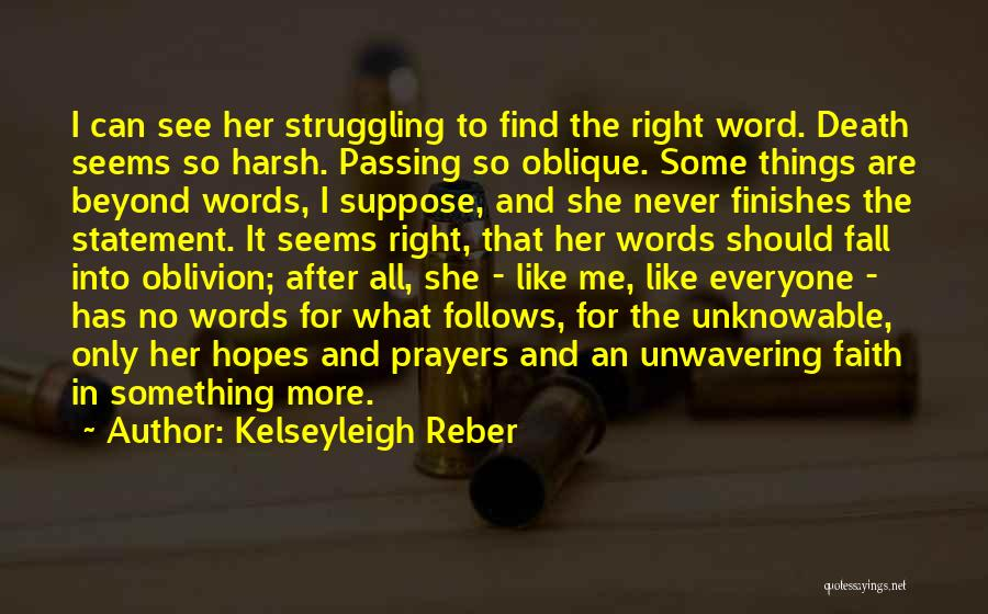 Lost Hope Quotes By Kelseyleigh Reber