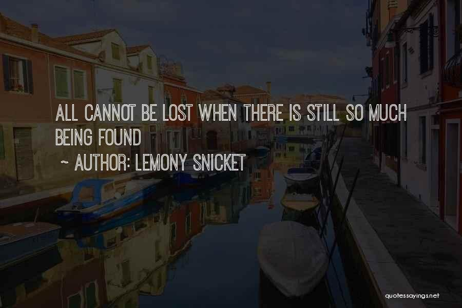 Lost Hope Quotes By Lemony Snicket