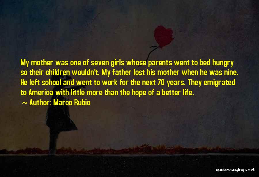 Lost Hope Quotes By Marco Rubio