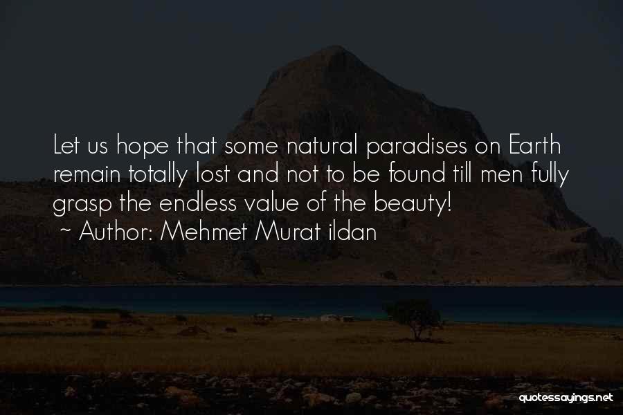 Lost Hope Quotes By Mehmet Murat Ildan