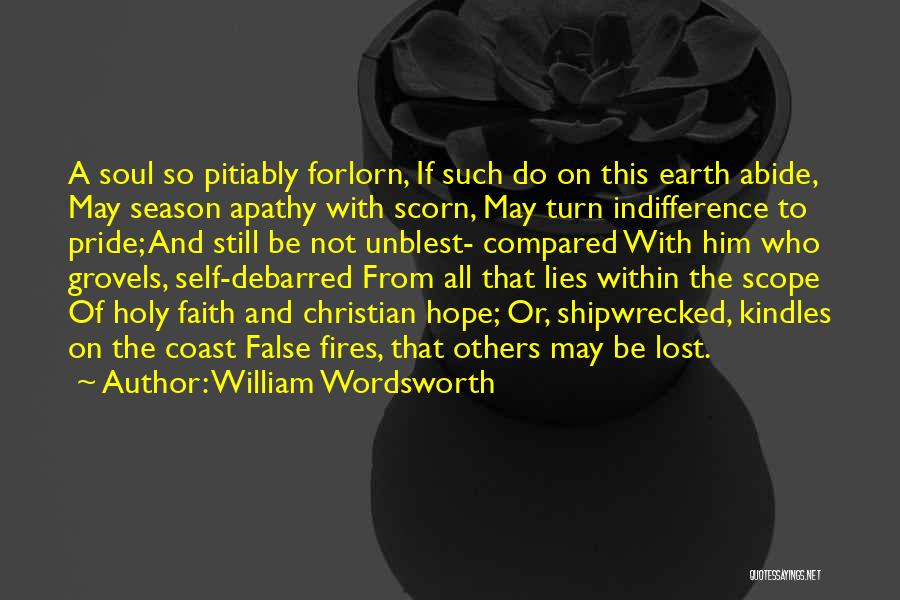 Lost Hope Quotes By William Wordsworth