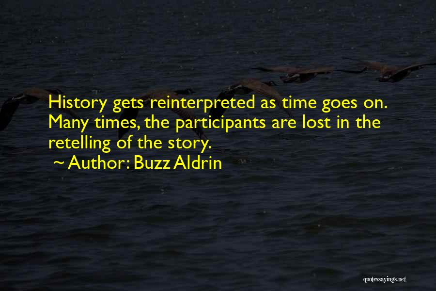 Lost In Time Quotes By Buzz Aldrin