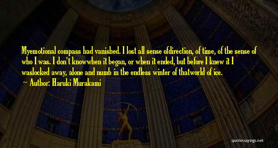 Lost In Time Quotes By Haruki Murakami