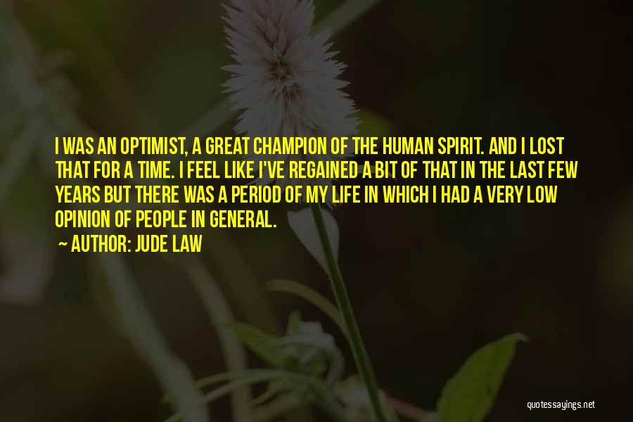 Lost In Time Quotes By Jude Law