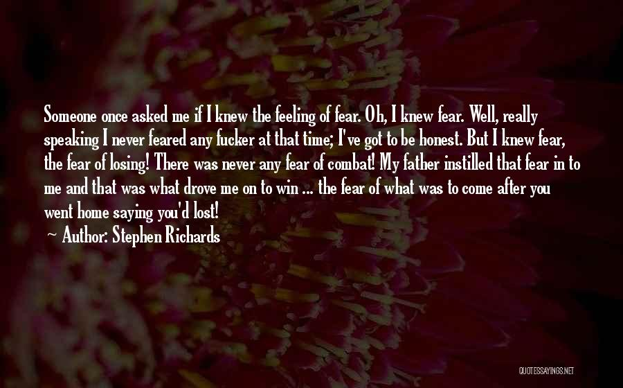 Lost In Time Quotes By Stephen Richards