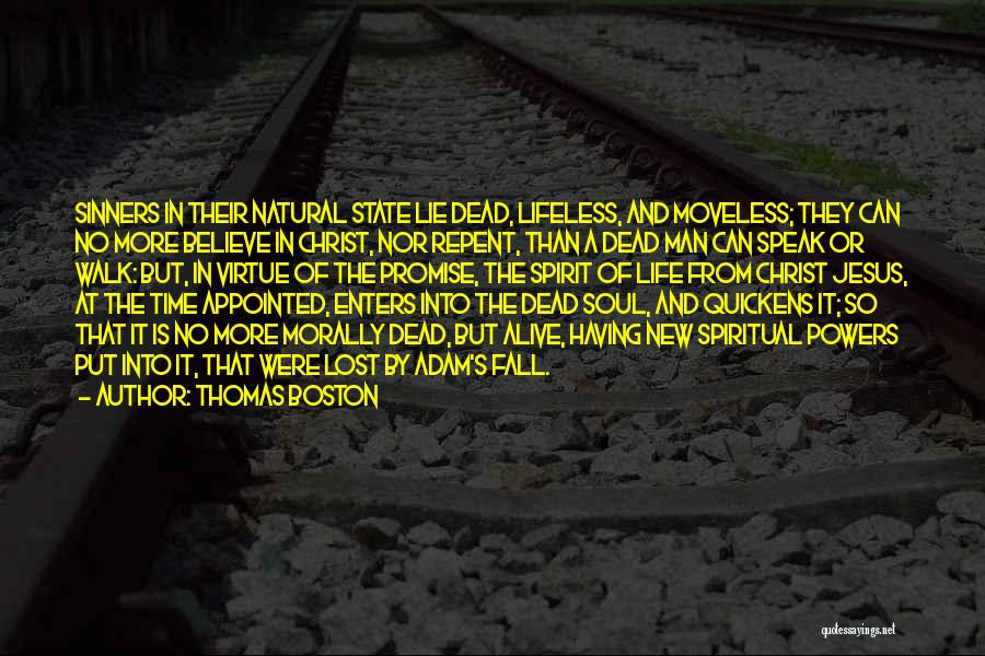 Lost In Time Quotes By Thomas Boston