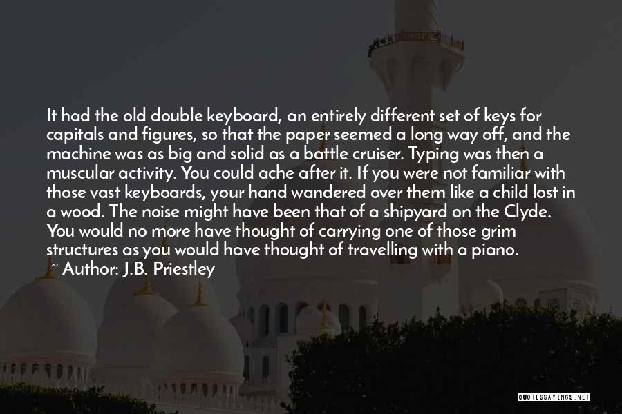 Lost Keys Quotes By J.B. Priestley