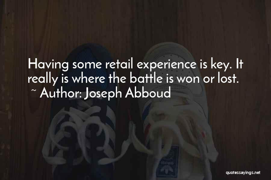 Lost Keys Quotes By Joseph Abboud