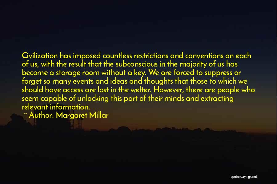 Lost Keys Quotes By Margaret Millar