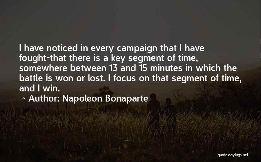 Lost Keys Quotes By Napoleon Bonaparte