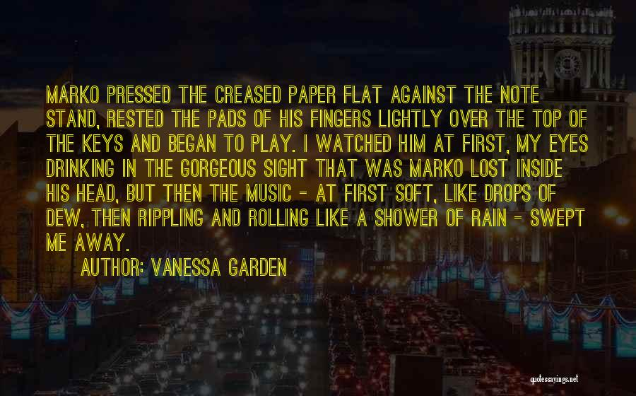 Lost Keys Quotes By Vanessa Garden