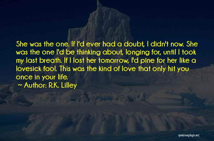 My lost love quotes