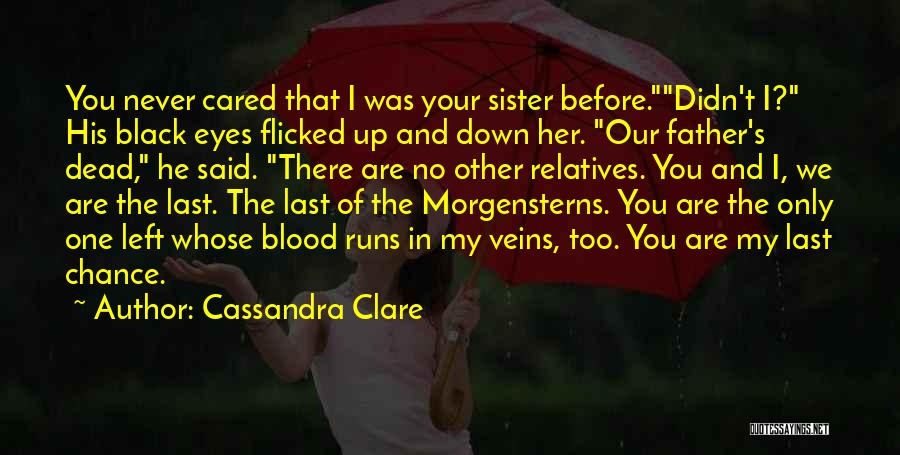 Lost My Father Quotes By Cassandra Clare