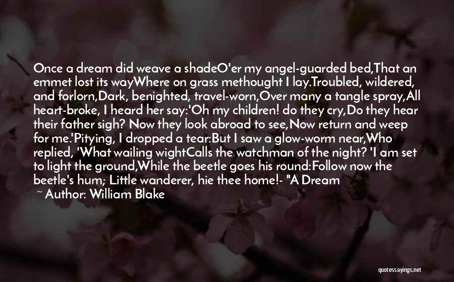Lost My Father Quotes By William Blake