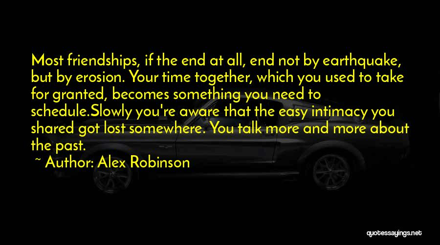 Lost Somewhere Quotes By Alex Robinson