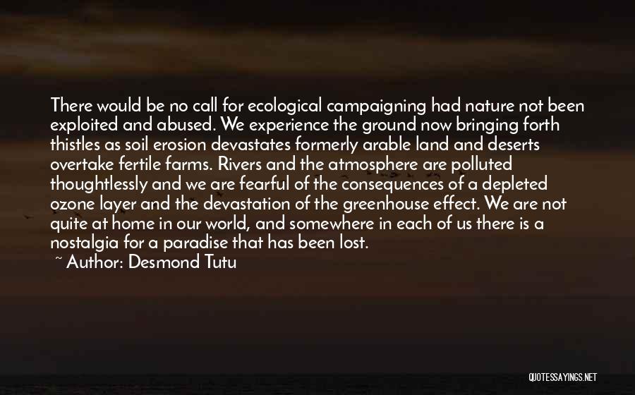 Lost Somewhere Quotes By Desmond Tutu