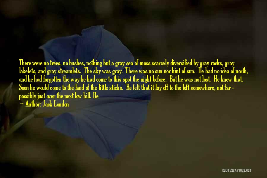 Lost Somewhere Quotes By Jack London