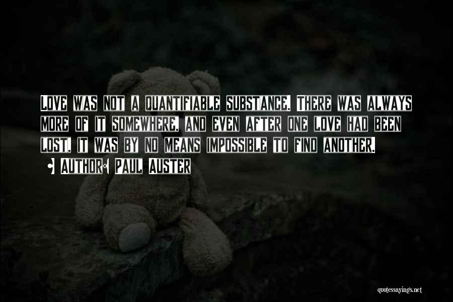 Lost Somewhere Quotes By Paul Auster