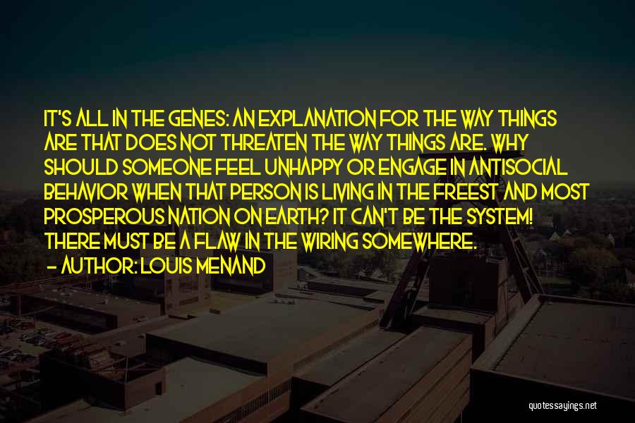 Louis Menand Quotes 623417