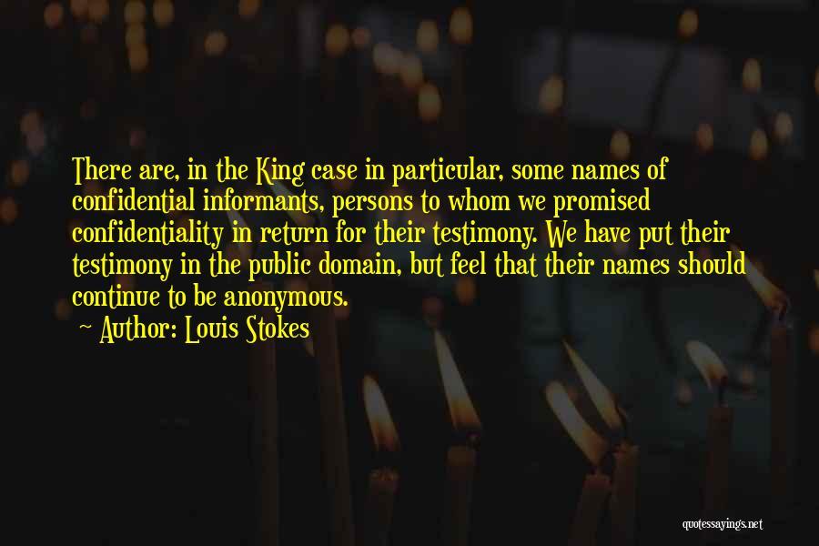 Louis Stokes Quotes 1653516