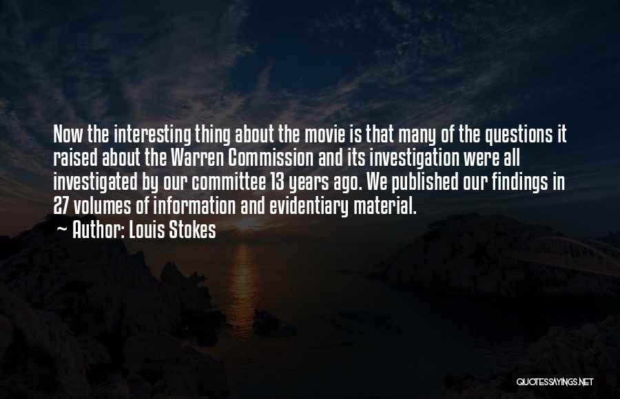Louis Stokes Quotes 548797