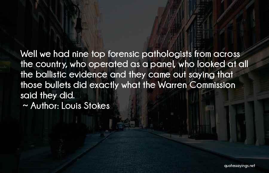 Louis Stokes Quotes 669427