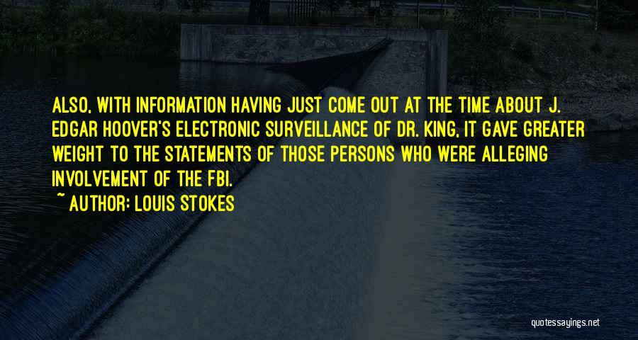 Louis Stokes Quotes 992920
