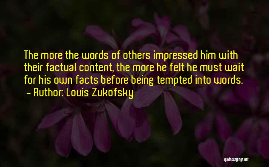 Louis Zukofsky Quotes 1562843