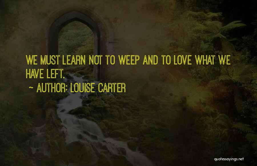 Louise Carter Quotes 1440535