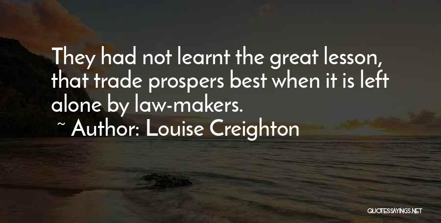 Louise Creighton Quotes 937070