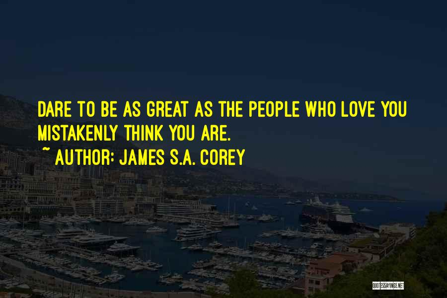 Love 2015 Quotes By James S.A. Corey