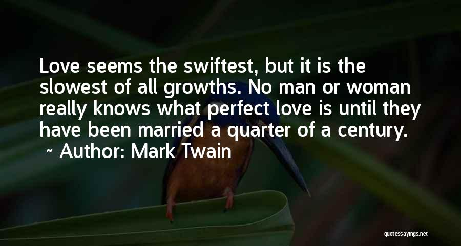 Love A Married Man Quotes By Mark Twain
