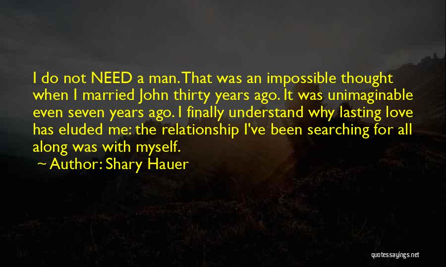 Love A Married Man Quotes By Shary Hauer