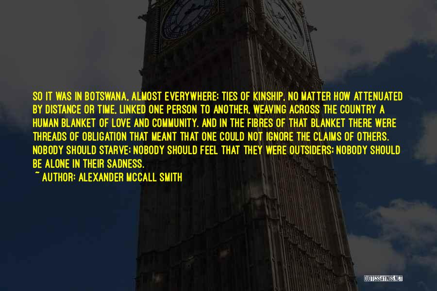 Love Across Time Quotes By Alexander McCall Smith