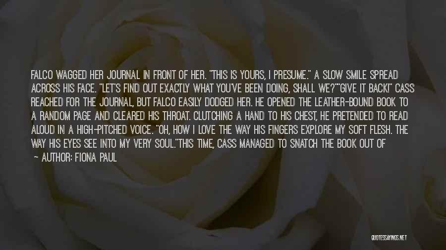 Love Across Time Quotes By Fiona Paul