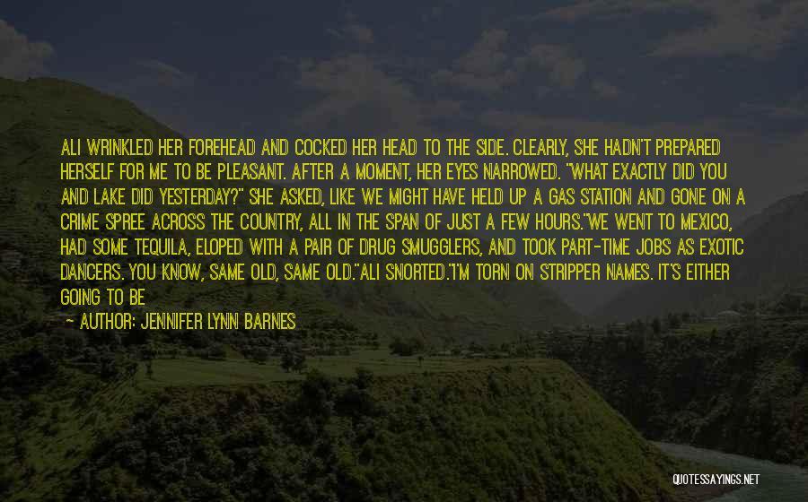 Love Across Time Quotes By Jennifer Lynn Barnes