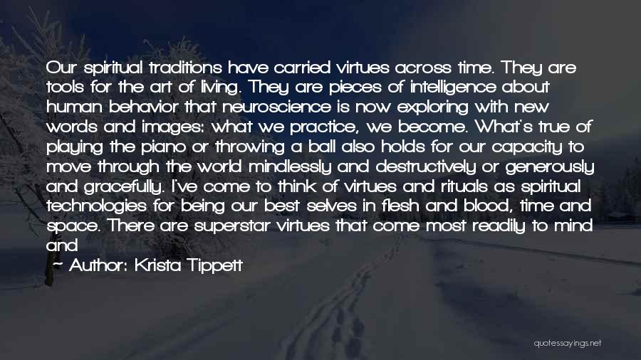 Love Across Time Quotes By Krista Tippett