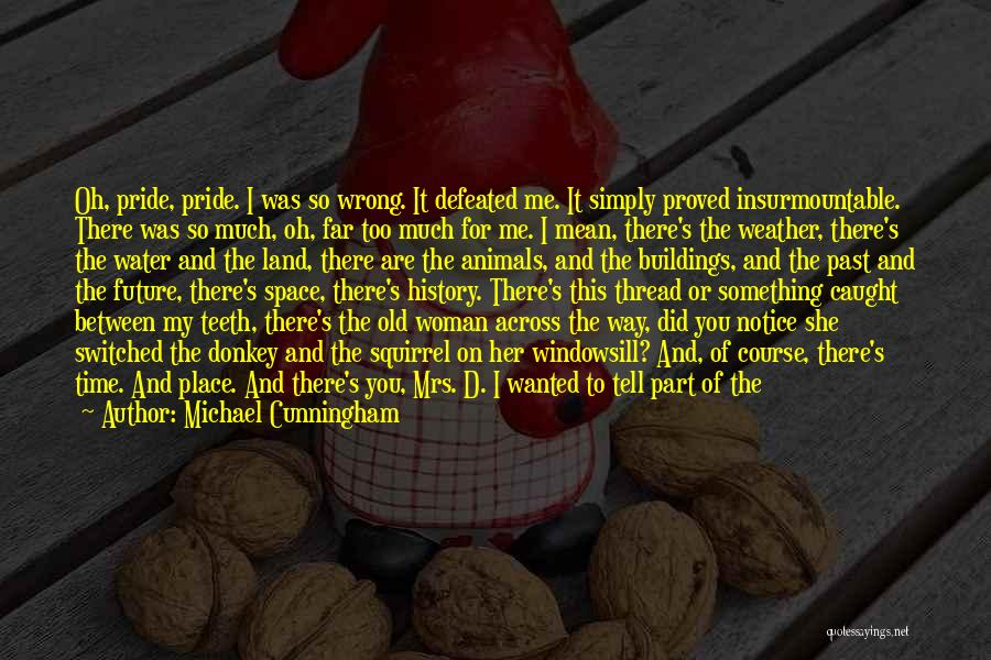 Love Across Time Quotes By Michael Cunningham