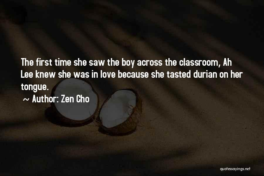 Love Across Time Quotes By Zen Cho