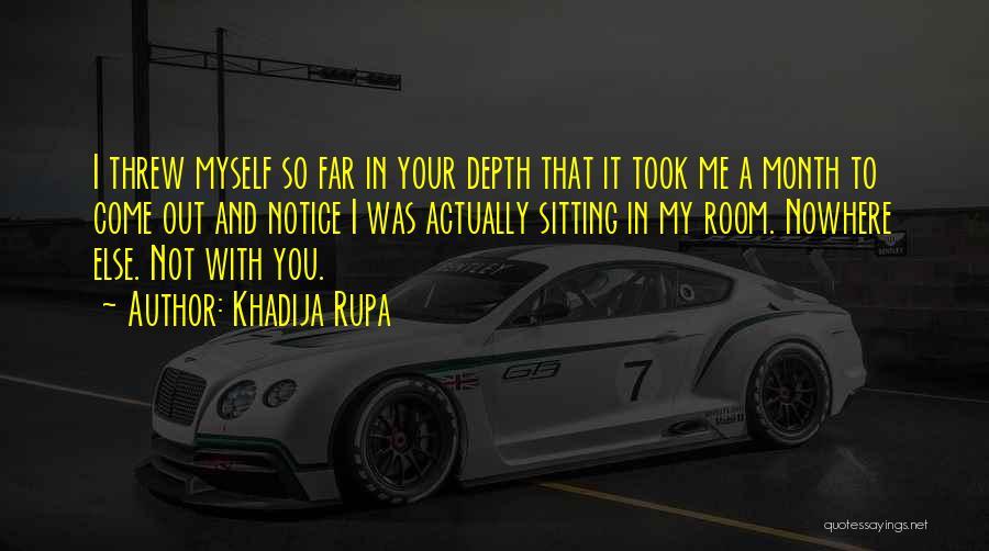 Love Actually Quotes By Khadija Rupa