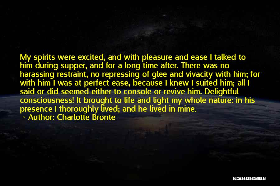Love After A Long Time Quotes By Charlotte Bronte