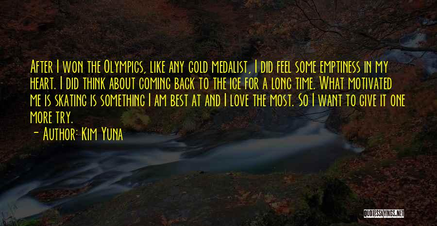 Love After A Long Time Quotes By Kim Yuna