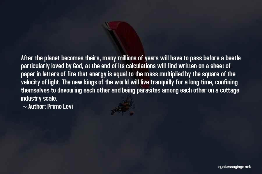 Love After A Long Time Quotes By Primo Levi