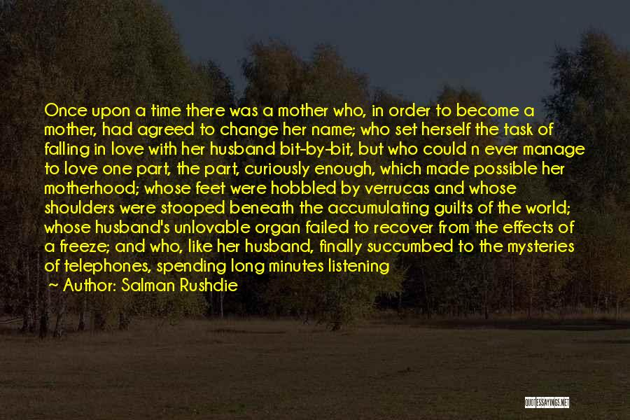Love After A Long Time Quotes By Salman Rushdie
