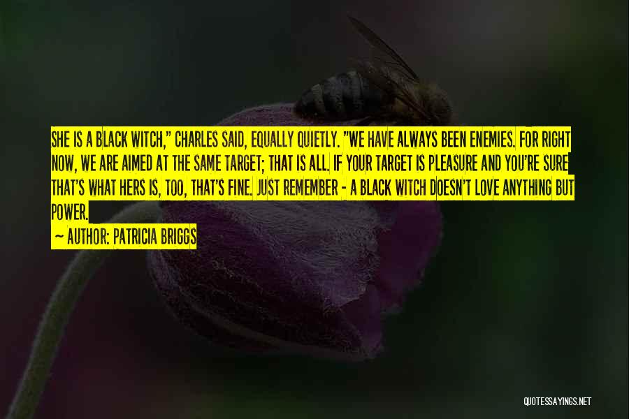 Love All Equally Quotes By Patricia Briggs
