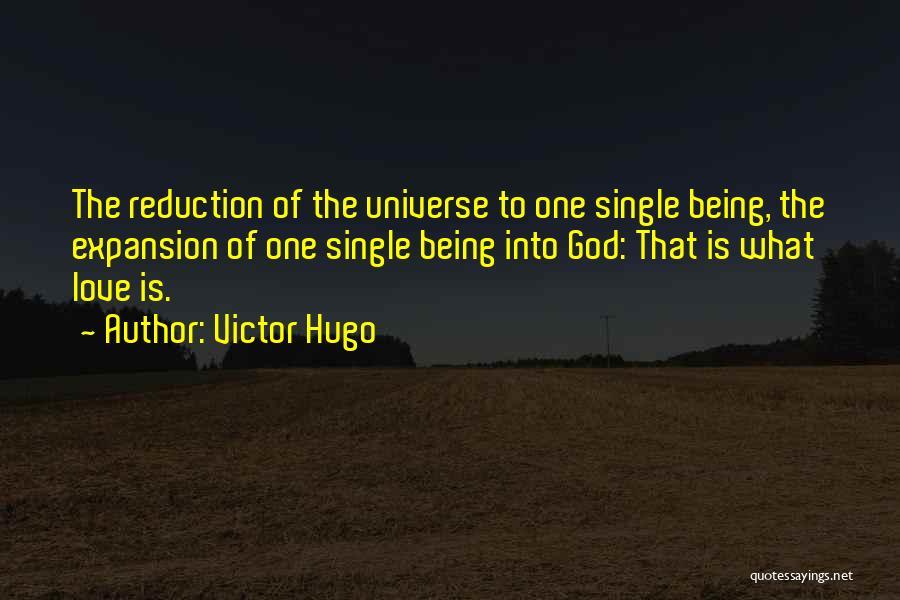Love And Being There For Each Other Quotes By Victor Hugo