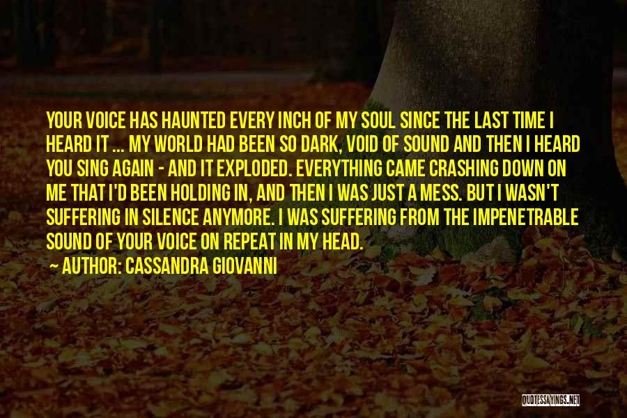 Love And Finding Yourself Quotes By Cassandra Giovanni