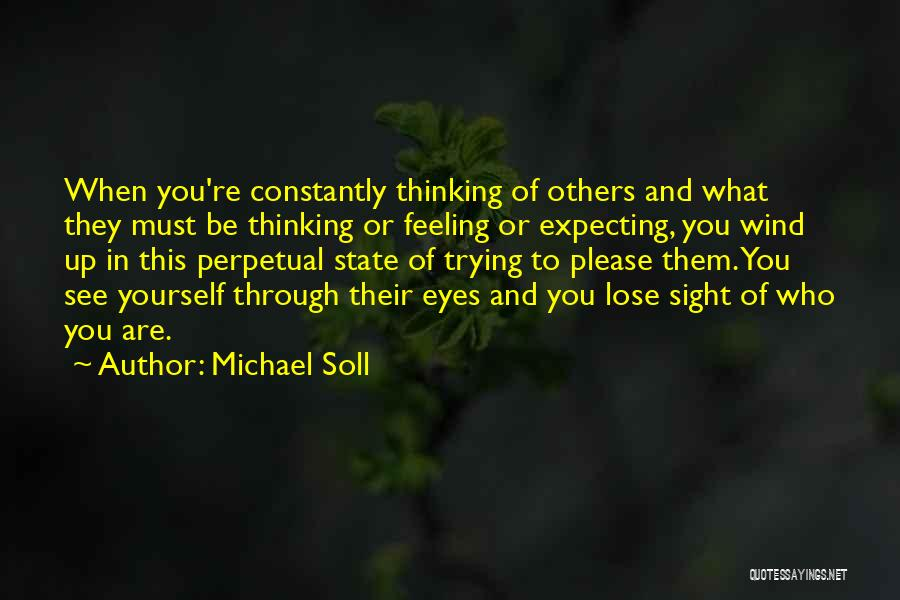 Love And Finding Yourself Quotes By Michael Soll