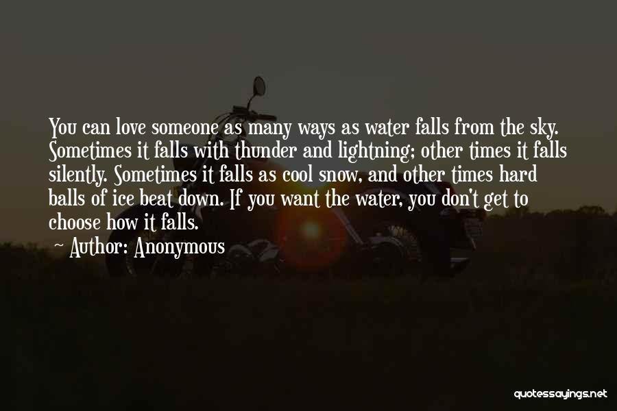 Love And Hard Times Quotes By Anonymous