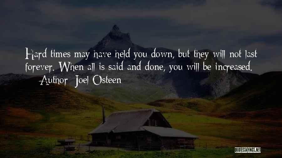Love And Hard Times Quotes By Joel Osteen